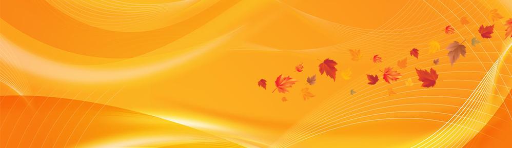 fall sale banner bg